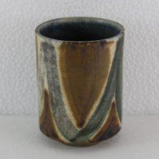 Antigüedades: LAPICERA EN CERÁMICA ESMALTADA FIRMADO CUIXÀ DE LOS AÑOS 70. Lote 193113265