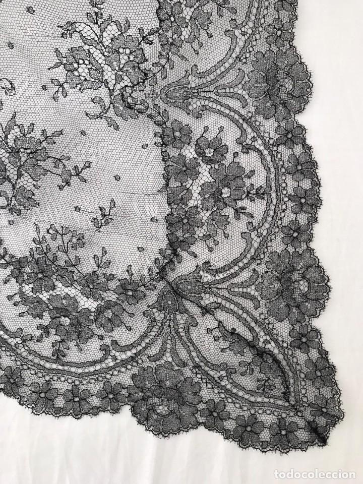 Antigüedades: Extraordinaria Mantilla española del siglo XIX - Foto 3 - 193164011