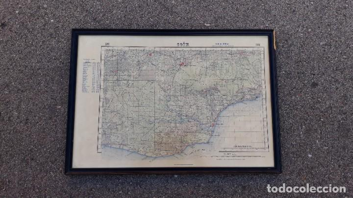 Mapa De Coin Malaga.Mapa Antiguo De Coin Malaga Edicion Militar E Buy Old Picture Frames At Todocoleccion 193262260