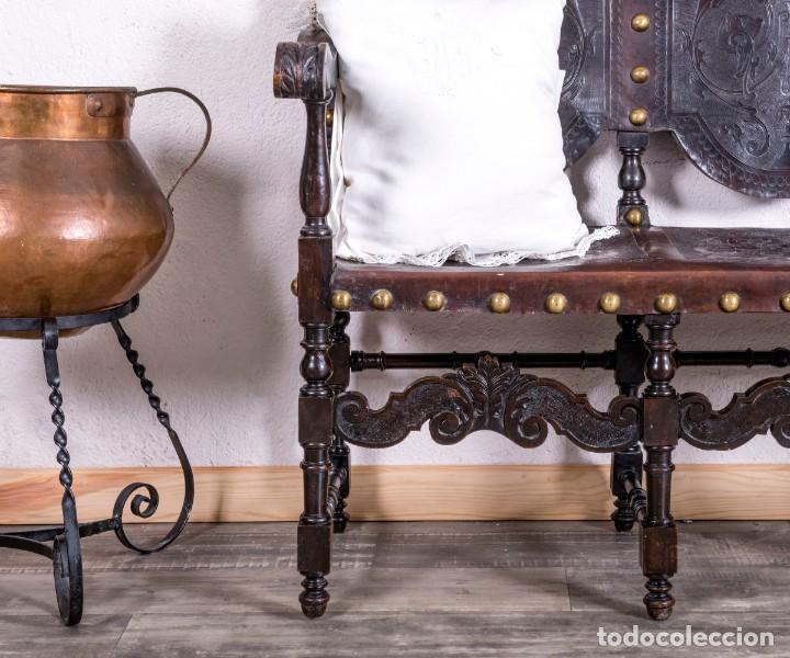 Antigüedades: Banco Antiguo Renacimiento - Foto 3 - 193344588