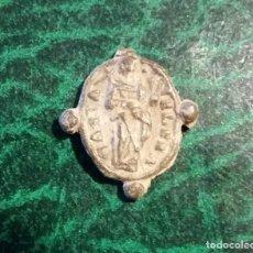 Antigüedades: MEDALLA PEZUELADA SANTA ELENA Y VERACRUZ - S. XVII. Lote 193349908