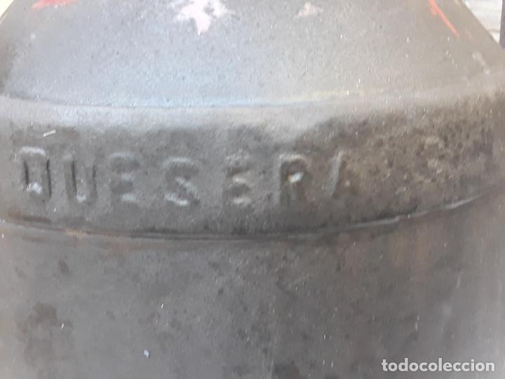 Antigüedades: CANTARA METALICA ANTIGUA DE : LA CENTRAL QUESERA S.A. - Foto 7 - 193374182