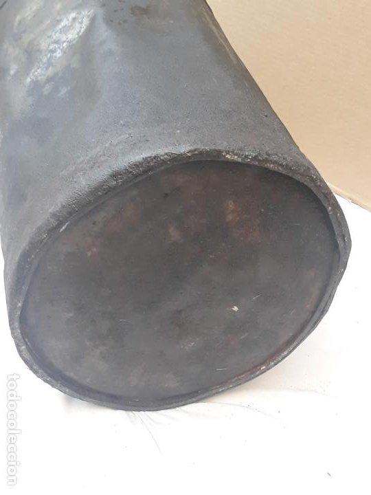 Antigüedades: CANTARA METALICA ANTIGUA DE : LA CENTRAL QUESERA S.A. - Foto 10 - 193374182