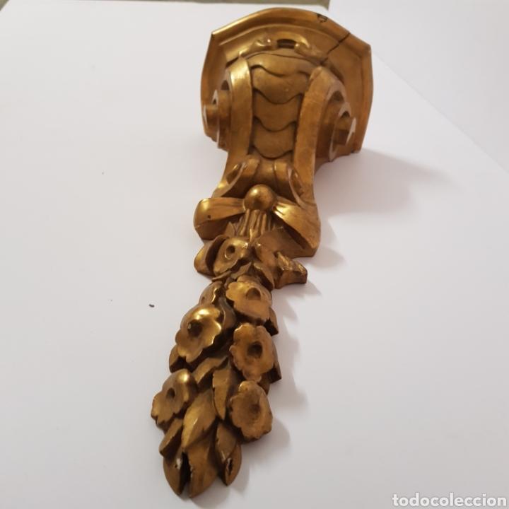 Antigüedades: Mensula en talla de madera - Foto 2 - 193382473