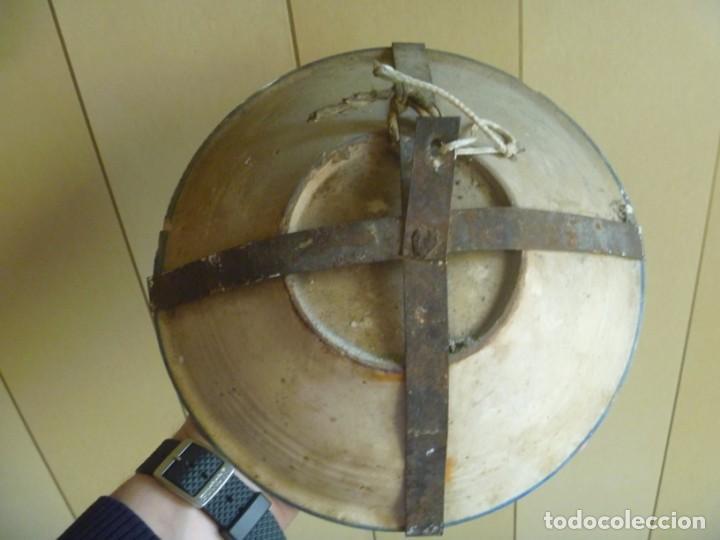 Antigüedades: Plato cerámica Puente del Arzobispo serie novia finales S XVIII ALTA COLECCIÓN VALOR MUSEISTICO - Foto 6 - 193408326