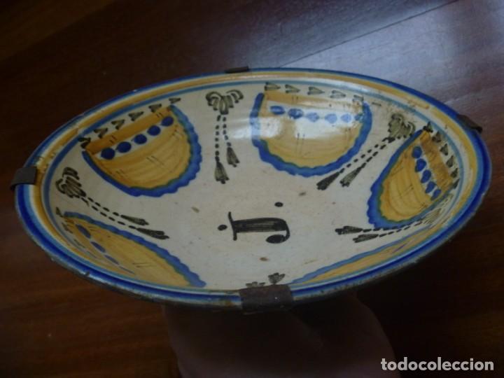 Antigüedades: Plato cerámica Puente del Arzobispo serie novia finales S XVIII ALTA COLECCIÓN VALOR MUSEISTICO - Foto 22 - 193408326