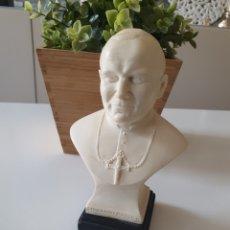 Antigüedades: BUSTO JUAN PABLO II FIRMADA POR LEONI. Lote 193410483