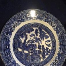 Antigüedades: FANTÁSTICO PLATO SOCIETE CERAMIQUE HOLANDESA. Lote 193417718