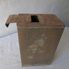 Antigüedades: SEMILLERO ANTIGUO DE LATA. Lote 193432545