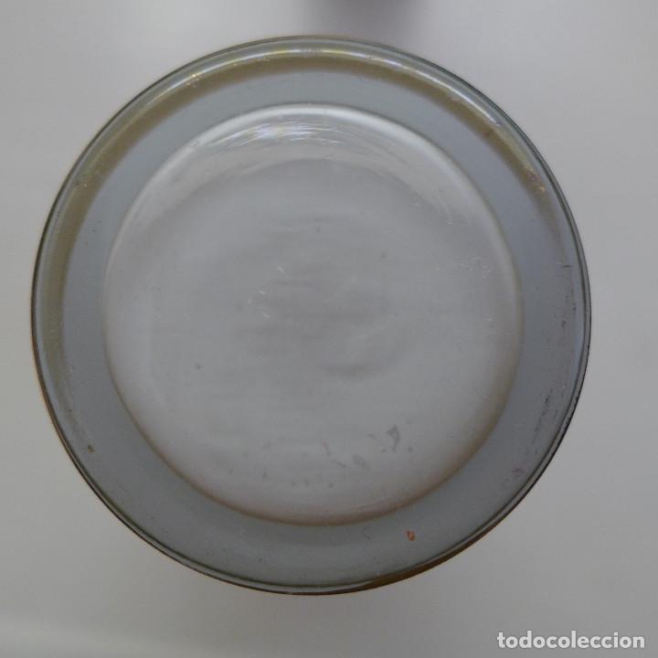 Antigüedades: 3 VASOS TIPO TUBO DE SILESIA SPAIN CON DECORACION GRAGONARD Y FILOS DE ORO - Foto 10 - 193561005