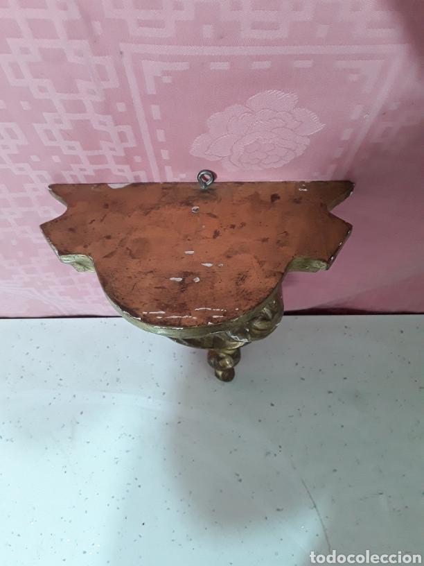Antigüedades: Mensula policromada - Foto 2 - 193561367