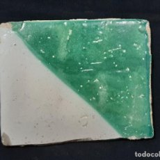 Antigüedades: AZULEJO PAÑUELO. SIGLO XVIII.. Lote 193574932