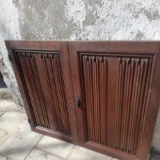 Antigüedades: TRES PAREJAS DE PUERTAS ANTIGUAS. Lote 193582997