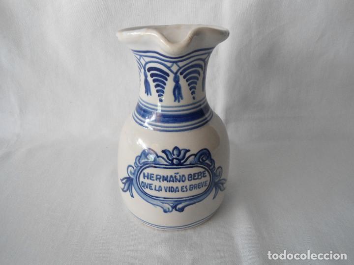 JARRA DE VINO CERAMICA (Antigüedades - Porcelanas y Cerámicas - Puente del Arzobispo )