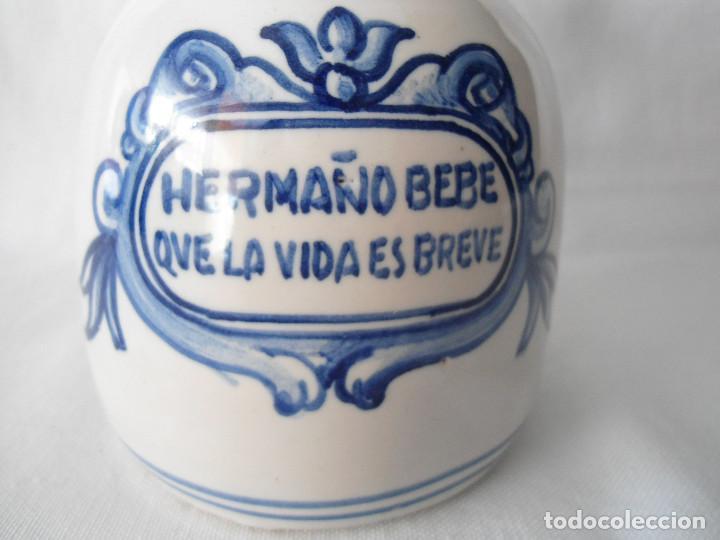 Antigüedades: JARRA DE VINO CERAMICA - Foto 2 - 193583362