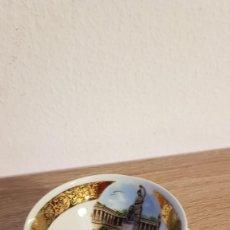 Antigüedades: TASA DE COLECCIÓN EN PORCELANA ECHA A MANO CON POLVO DE ORO 24K SELLADA BAVARIA, MADE IN ALEMANIA.. Lote 193584416