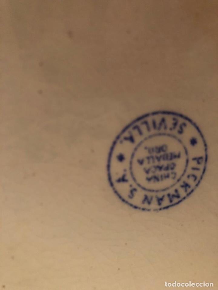 Antigüedades: Palangana y Jarra Antigüedades Cartuja - Foto 15 - 183734685