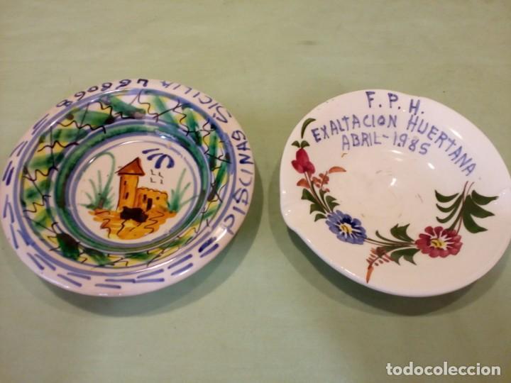 LOTE CERAMICA LARIO, LORCA. (Antigüedades - Porcelanas y Cerámicas - Lario)