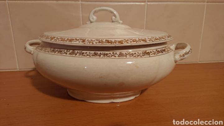 Antigüedades: Sopera de San Claudio Oviedo años 50 - Foto 4 - 193627790
