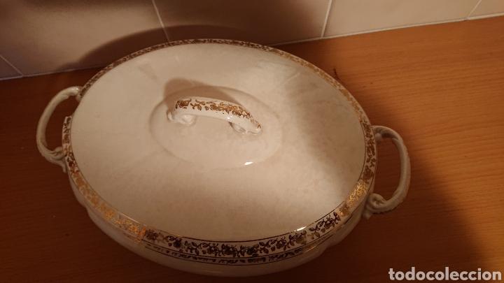 Antigüedades: Sopera de San Claudio Oviedo años 50 - Foto 5 - 193627790