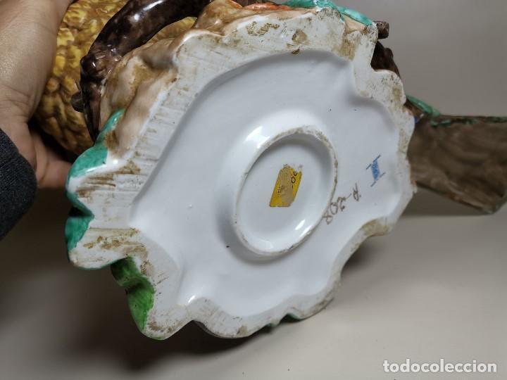 Antigüedades: PAPAGAYO LORO CACATUA PAJARO GRAN TAMAÑO Y PESO 50 CM--PORCELANA CERAMICA ESMALTADA -SUREDA AÑOS 70 - Foto 37 - 193627885