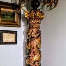 Antigüedades: COLUMNA BARROCA DEL 1800. Lote 193634397