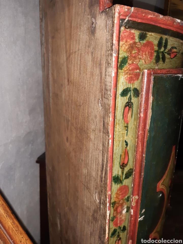 Antigüedades: RINCONERA PINTADA - Foto 4 - 193651757