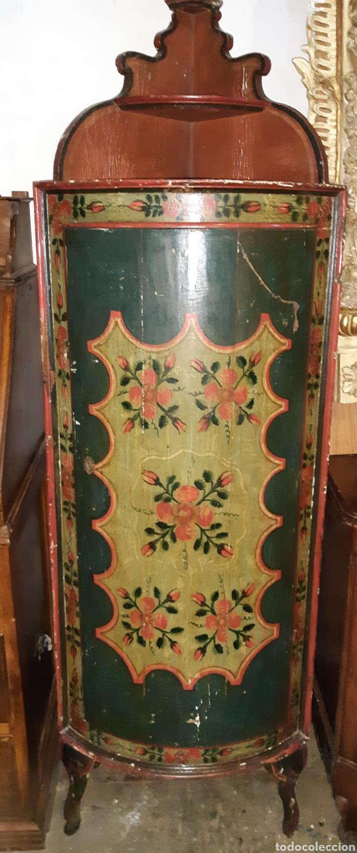 RINCONERA PINTADA (Antigüedades - Muebles Antiguos - Armarios Antiguos)