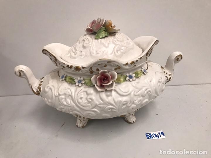 SOPERA PORCELANA ITALIANA (Antigüedades - Porcelanas y Cerámicas - Otras)