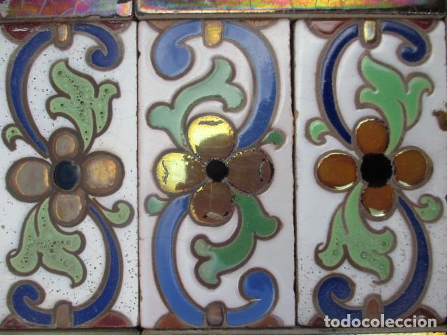 Antigüedades: Composicion de azulejos Ramos Rejano - Foto 2 - 193661307