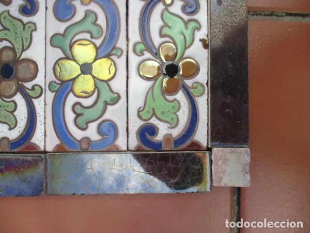 Antigüedades: Composicion de azulejos Ramos Rejano - Foto 3 - 193661307