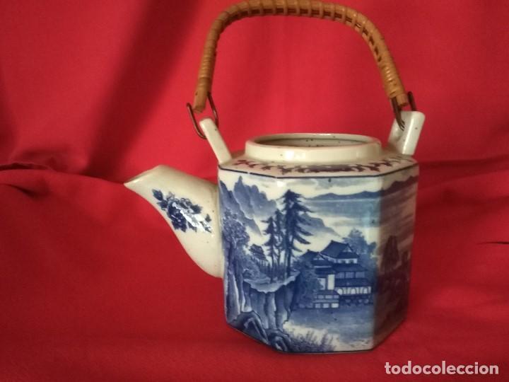 TETERA PORCELANA JAPONESA (Antigüedades - Porcelana y Cerámica - Japón)