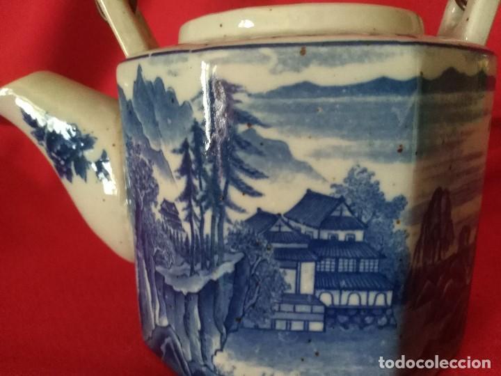 Antigüedades: TETERA PORCELANA JAPONESA - Foto 2 - 193665303