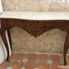 Antigüedades: CONSOLA CON ESPEJO. Lote 193665438