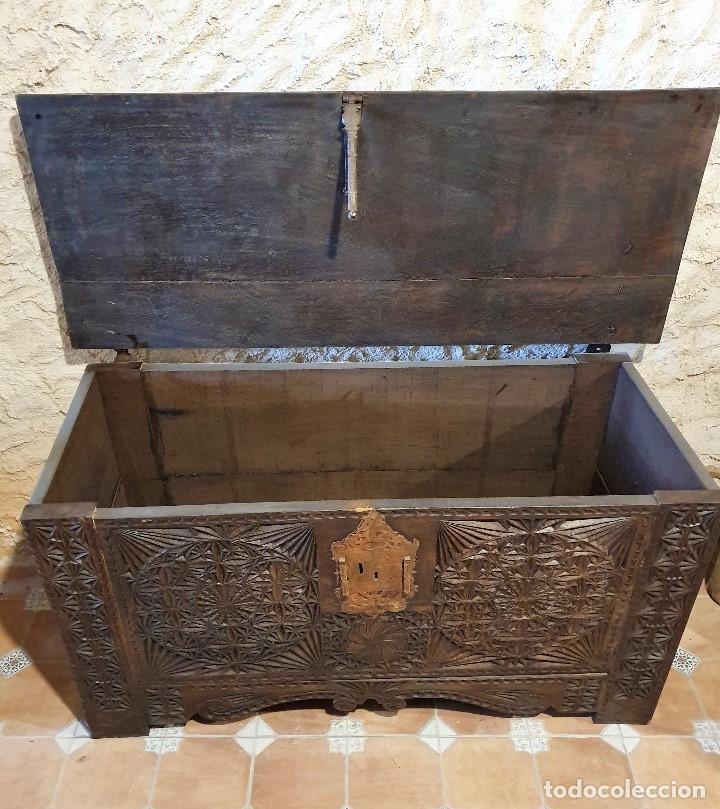 Antigüedades: ARCON TALLADO - Foto 3 - 193665557