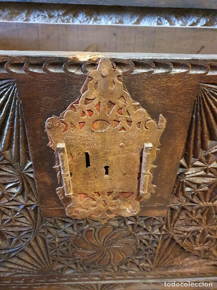 Antigüedades: ARCON TALLADO - Foto 4 - 193665557