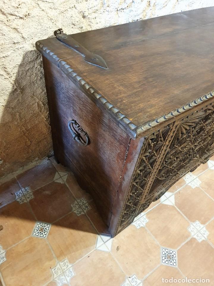 Antigüedades: ARCON TALLADO - Foto 5 - 193665557