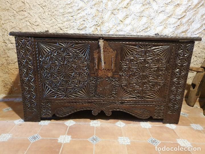 Antigüedades: ARCON TALLADO - Foto 6 - 193665557