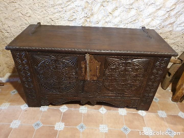 Antigüedades: ARCON TALLADO - Foto 7 - 193665557
