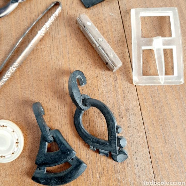 Antigüedades: Lote variado Hebillas Broches / Baquelita Metal etc... - Foto 4 - 193671871