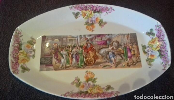 BANDEJA PORCELANA. PRINCIPIO SIGLO XX (Antigüedades - Porcelanas y Cerámicas - Otras)