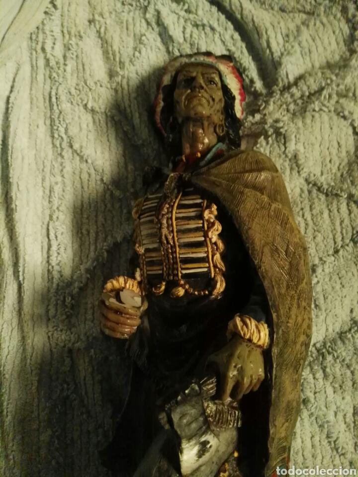 Antigüedades: Indio figura preciosa - Foto 2 - 193716786