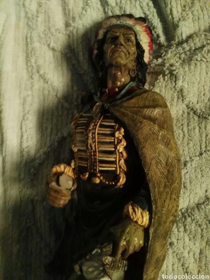 Antigüedades: Indio figura preciosa - Foto 3 - 193716786
