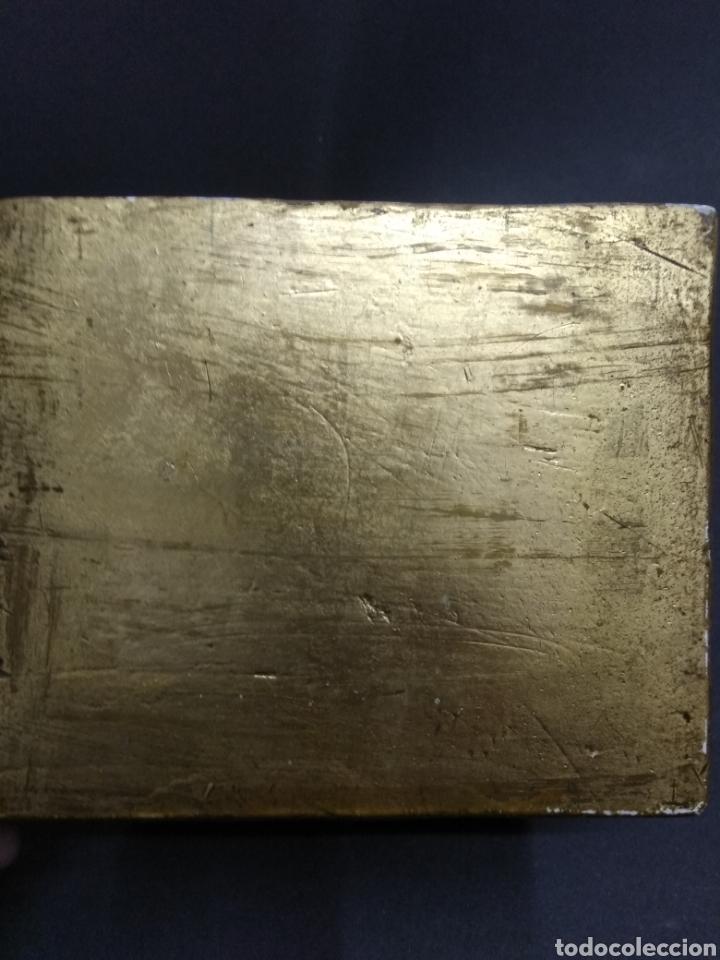 Antigüedades: MÉNSULA QUERUBÍN ANGEL DORADO ESTUCO Y MADERA PIGMALION BARCELONA BELLA PIEZA PARA ALTAR - Foto 6 - 193741162