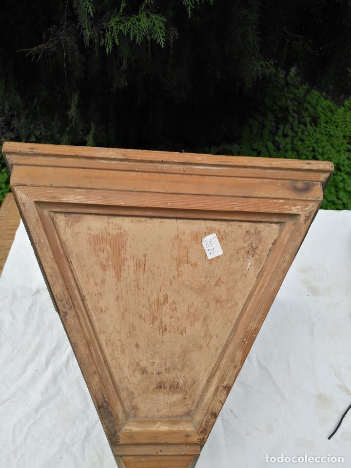 Antigüedades: Repisa ménsula de madera - Foto 2 - 193752616