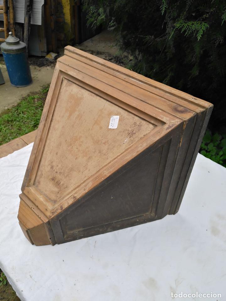 Antigüedades: Repisa ménsula de madera - Foto 4 - 193752616