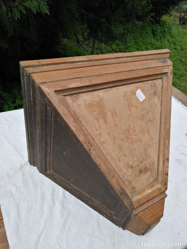 Antigüedades: Repisa ménsula de madera - Foto 5 - 193752616