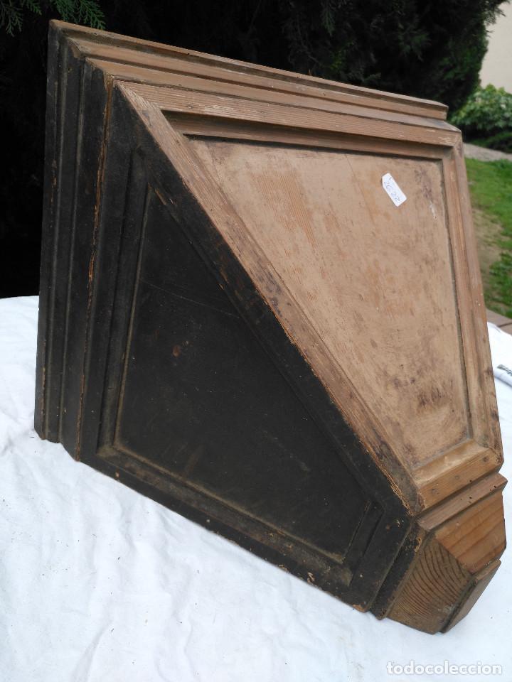 Antigüedades: Repisa ménsula de madera - Foto 6 - 193752616