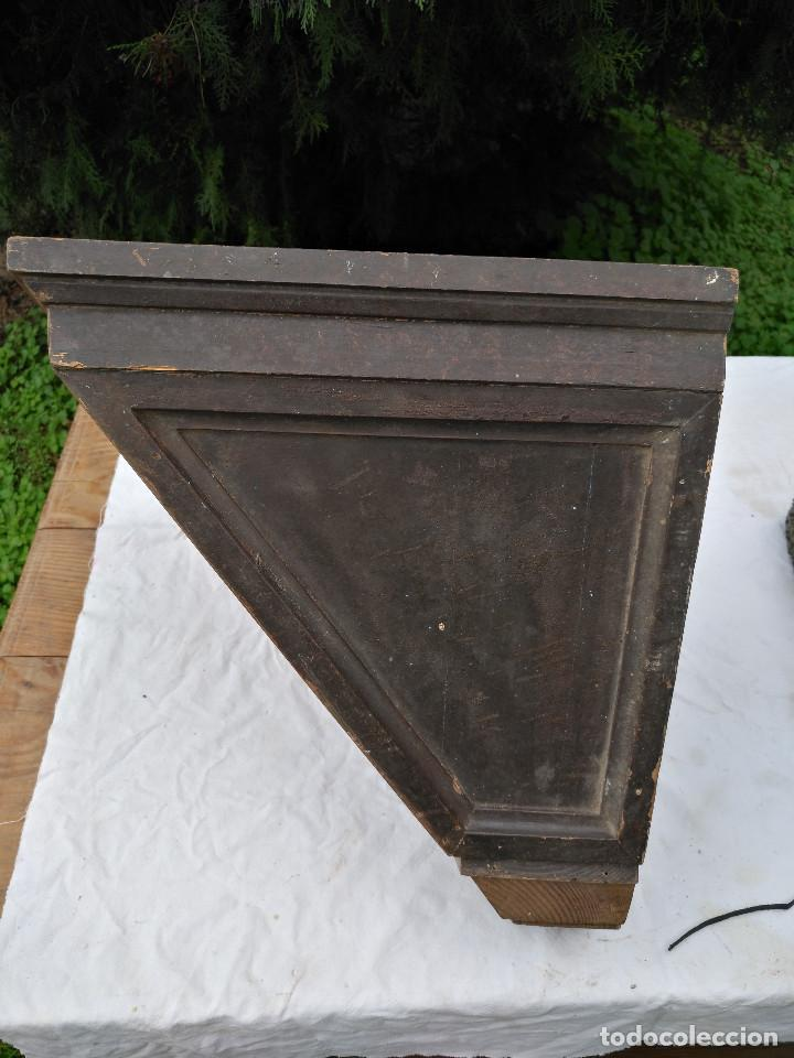 Antigüedades: Repisa ménsula de madera - Foto 8 - 193752616