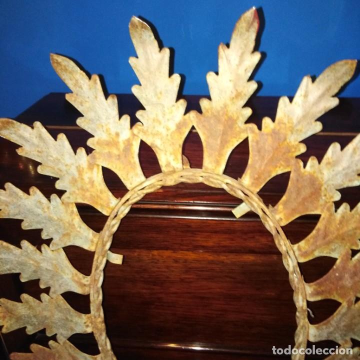 Antigüedades: Antiguo espejo tipo sol, años 20 - Foto 3 - 193769177
